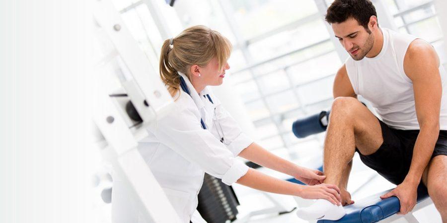 Первая помощь при травмах в спортзале
