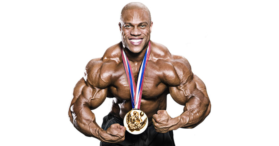 Чемпион Фил Хит (Phil Heath)